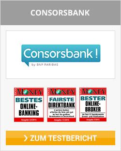 Consorsbank Depot eröffnen