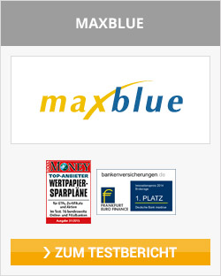 maxblue ETF Kosten
