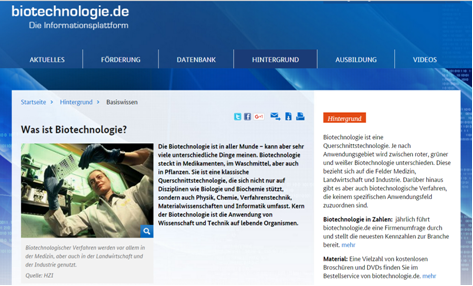 ETF Biotechnologie