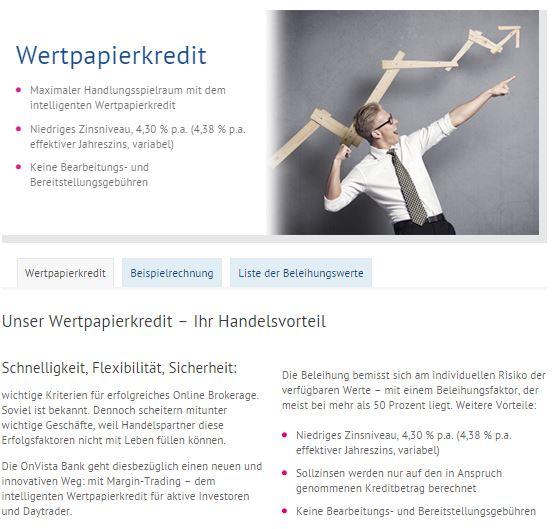 Schnell und flexibel, der Wertpapierkredit.
