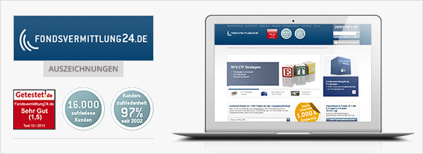 Fondsvermittlung24.de ETF Sparplan