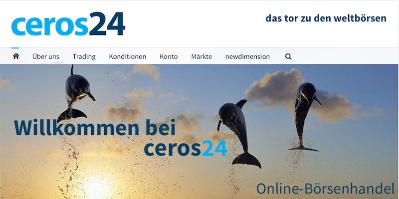 ie Online-präsenz von ceros24