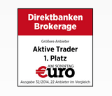 Prämiertes Angebot bei S Broker