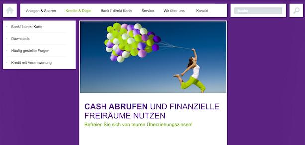 Bank11direkt Kredite
