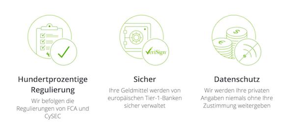 eToro legt enormen Wert auf Datenschutz