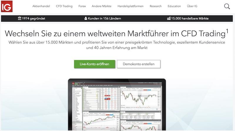 IG Webseite