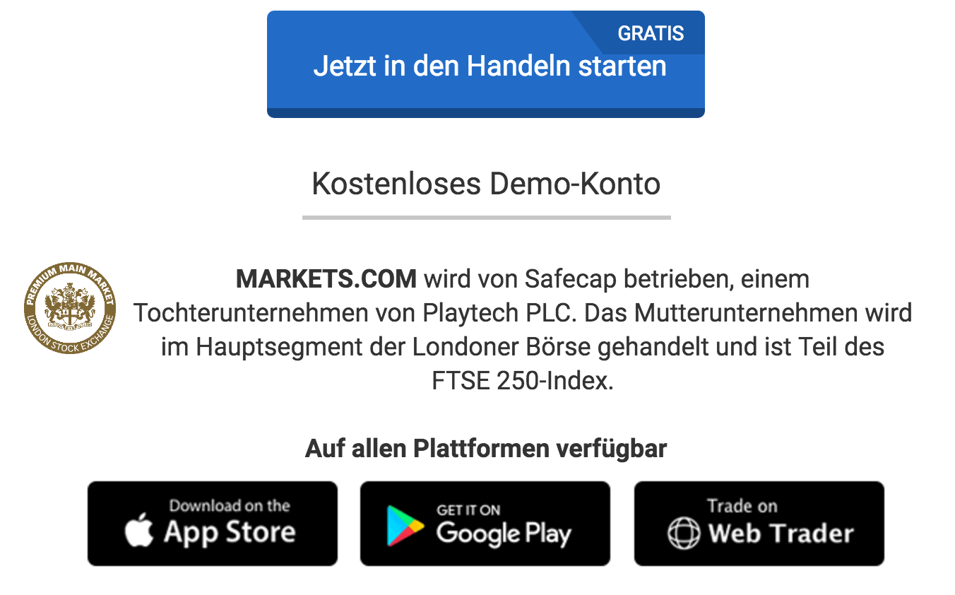 Markets.com Apps