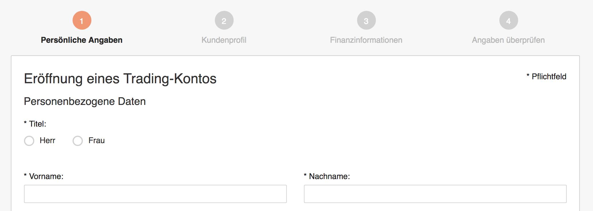 Swissquote Demokonto