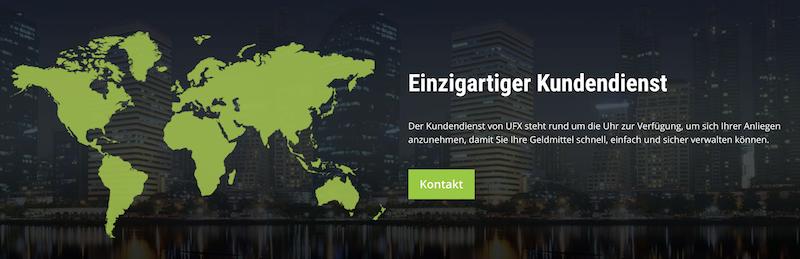 UFX Kundensupport
