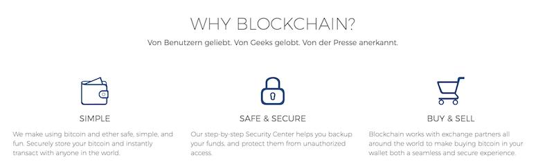 Blockchain.info Sicherheit