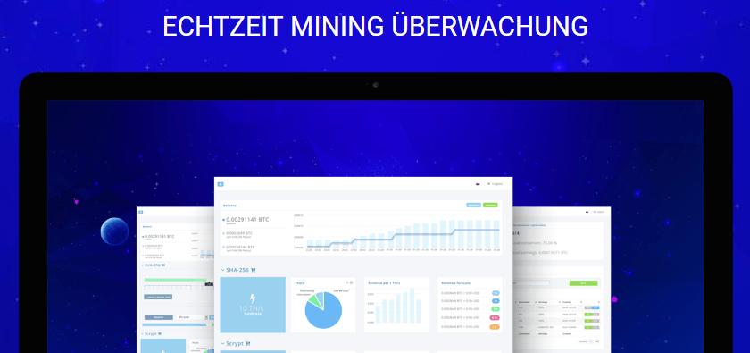 HashFlare Echtzeit Mining Überwachung