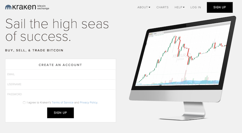 Kraken Internetseite