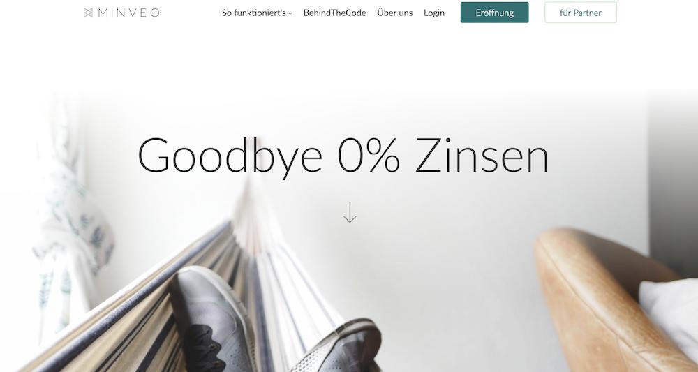 Minveo Homepage