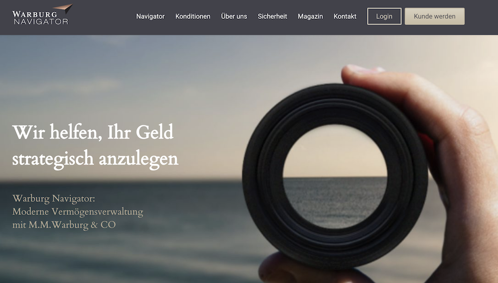Warburg Navigator Homepage