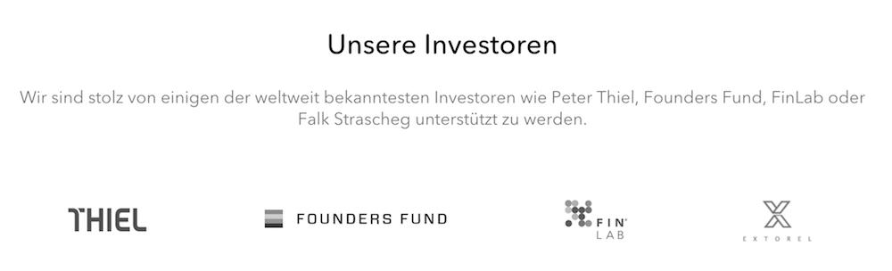 nextmarkets Investoren