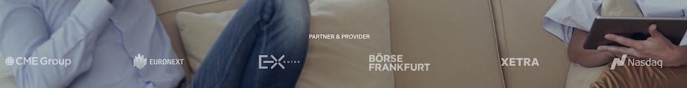Bekannte Partner von DEGIRO zeigen, dass es sich um einen seriösen und sicheren Online-Broker handelt