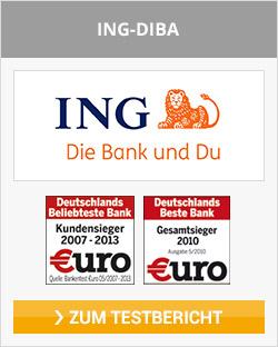 ING-DiBa ETF Kosten