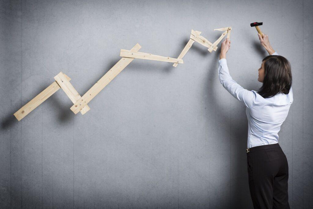 Fallende Kurse sind die größten Risiken bei Hebel-ETFs