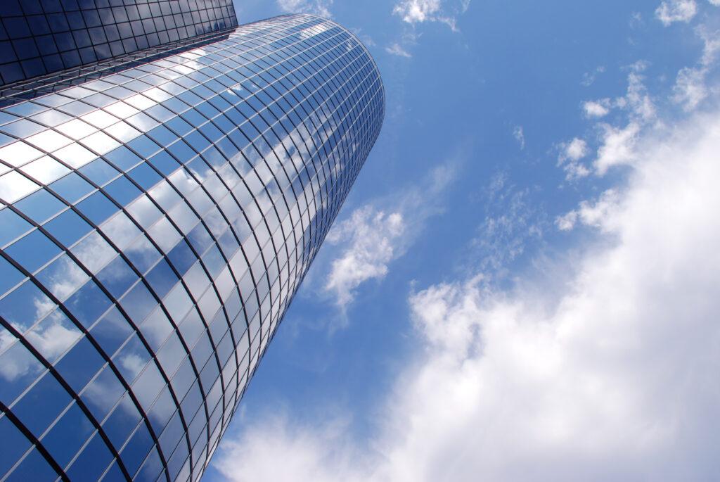 Die Deutsche Bank gehört auch zu den Large Caps