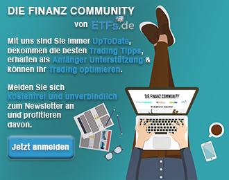 Newsletter Anmeldung etfs.de